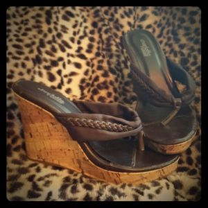 Adorable wedge heels